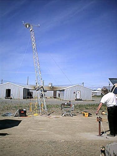Clear Air Force Base, Meteorological Monitoring